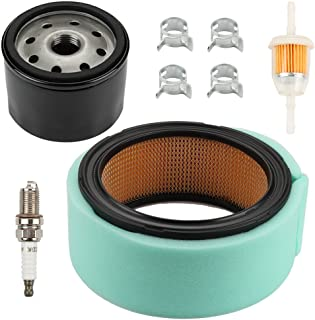 Harbot GY20576 Air Filter with Tune Up Maintenance kit for John Deere G110 G100 L130 M655 M665 Sabre 1948GV 1948HV 2148HV 2354HV 2554HV Scotts S2554 800 Lawn Tractor