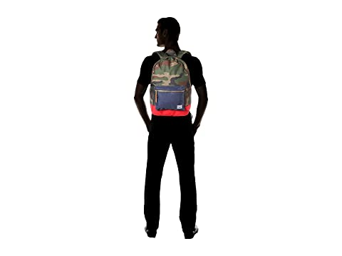 Woodland Co Navy Red Herschel Supply Settlement Camo qCwt5X