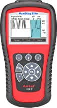 Autel Full System Scanner MD802 Maxidiag Elite Diagnoses for ABS, Engine, Transmission, Airbag, EPB, Oil Service Reset Code Reader OBD2 Diagnostic Tool