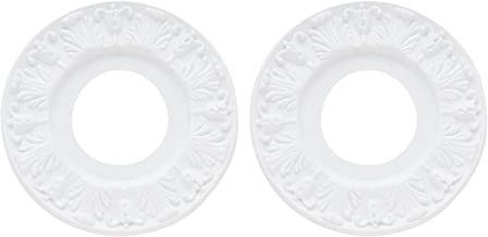 Westinghouse 7702700 Pack of 2 Victorian Ceiling Medallions, White - 10