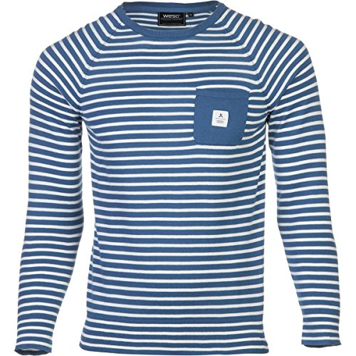 WESC Pullover: Bentley Deep Sea BL S