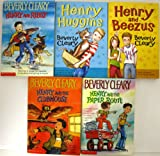 Set of 5 BEVERLY CLEARY Henry Chapter Books ~ Henry and the Paper Route, Henry and Beezus, Henry and Ribsy, Henry Huggins, Henry and the Clubhouse