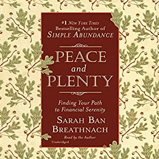 Peace and Plenty audiobook cover art