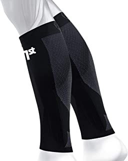 OS1st CS6 Compression Leg Sleeves (Two Sleeves) Relieve shin splints, Reduce Muscle Cramps, Improve Circulation and Enhance Recovery
