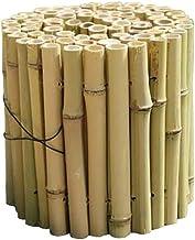 Tuinhek, Decor Plant Landschapsgrens Bamboe Versterkt Beschermende Randen Herbruikbaar Piketten voor Boerderij Gazon, 7 gr...