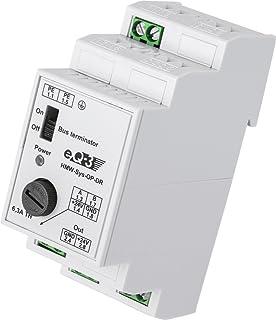 EQ3-AG HMW-Sys-OP-DR - Regleta (24V, 5A, Negro, Color blanco, 74,6g (2.63 oz), 8,7 cm, 6,5 cm)