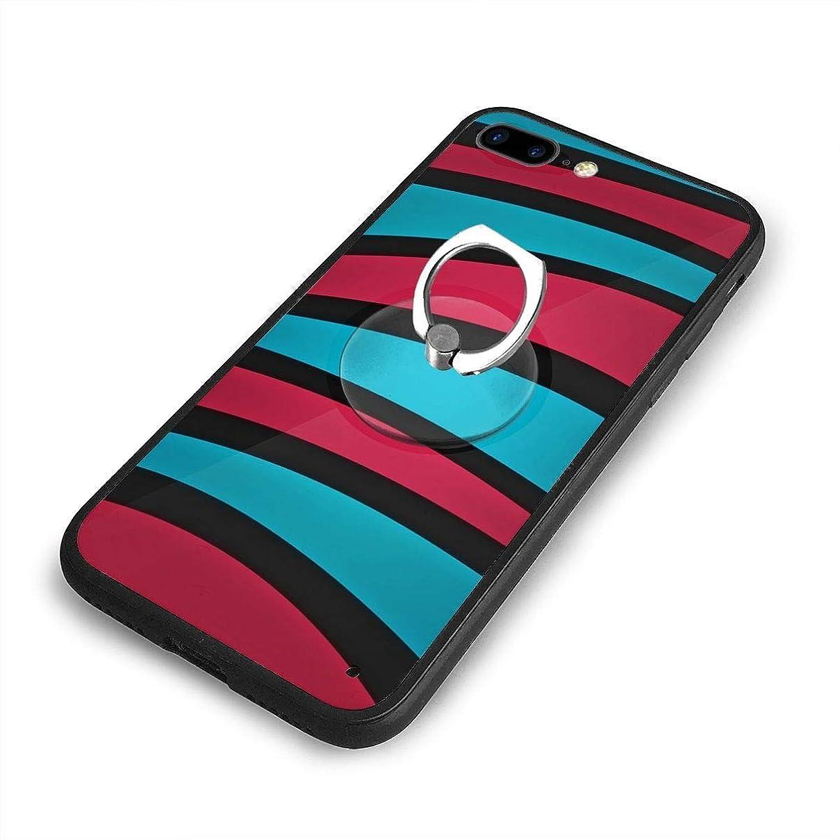 スチュアート島オーナーバドミントンマゼンタの要約iPhone 7/8 Plusケースリングブラケット 携帯カバー 創意デザイン軽量 傷つけ防止 360°回転ブラケット 携帯ケース PC 衝撃防止 全面保護
