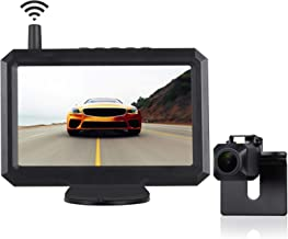 $103 » TUOZFLY Wireless Backup Camera Kit, 5 Inch HD TFT-LCD Monitor with Digital Wireless Signal, Waterproof Rear View Camera fo...