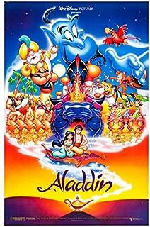 映画ポスター、映画アラジン(1992)-3Aladdin (1992)-3 ポスター A3サイズ(42x30cm)、素晴らしい室内装飾品