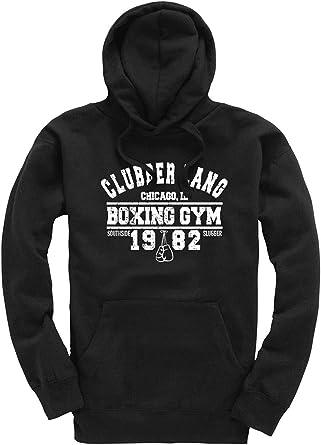 Clubber Lang Boxing Gym Premium Men's Black Hoodie/Hoody/Hooded Top Rocky Film