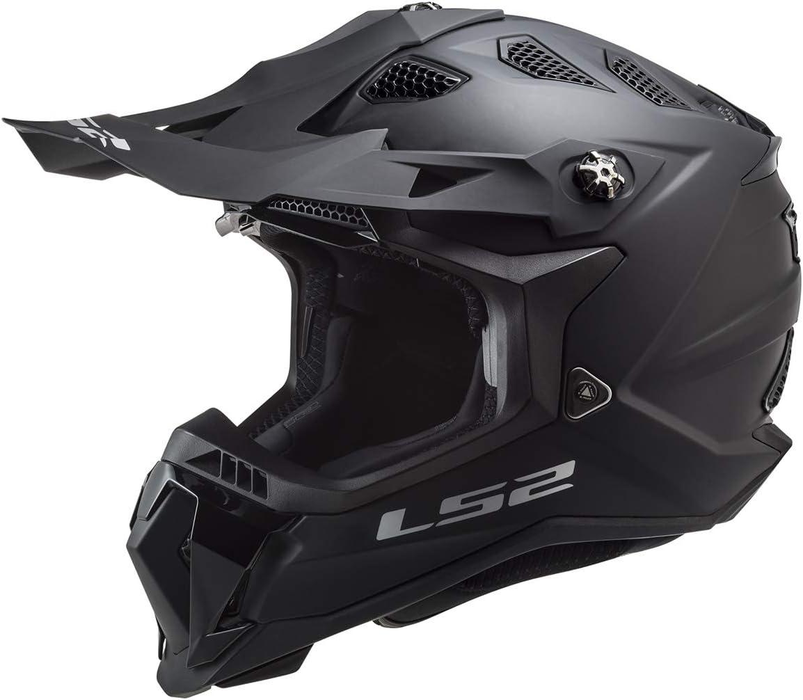 LS2 Helmets MX-Off Road Subverter Evo Helmet Matte Black - Large