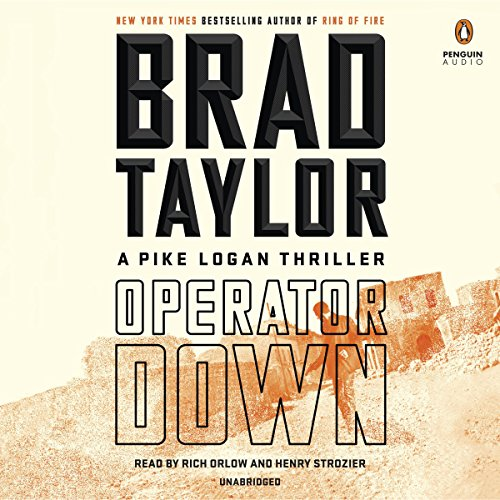 Operator Down audiobook cover art