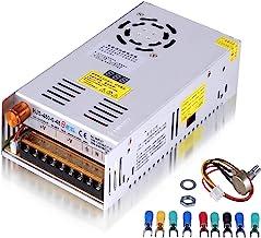 Adjustable DC Power Voltage Converter AC 110V-220V to DC 0-48V Module Switching Power Supply Digital Display 480W Voltage ...