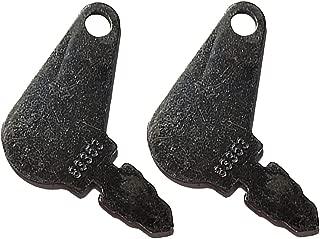 RAPartsinc 2 Keys Massey Ferguson Diesel 50 135 150 165 175 180 230 235 245 255 265 275 285