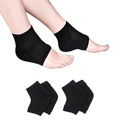 Jumpow Moisturizing Socks, Moisturizing/Gel Heel Socks