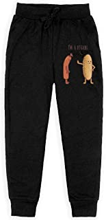 Dxqfb I'm A Vegan Boys Sweatpants,Sweatpants For Boys