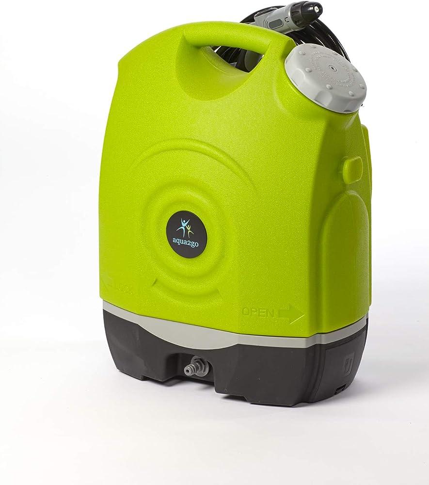 Aqua2Go GD73 Limpiadora de Alta presión o Hidrolimpiadora Vertical Batería Negro, Verde, Gris - Limpiador de Alta presión (Vertical, Batería, 6 m, 17 L, Negro, Verde, Gris, 9 Bar)