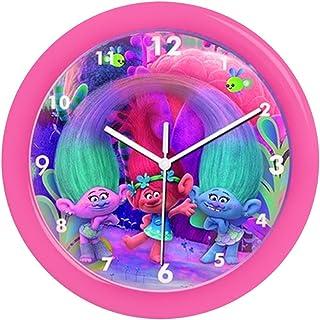 子供の壁時計、トロール ポピーの壁時計、正式にライセンスされた、ブランド