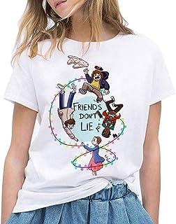 Camiseta Stranger Things, Camiseta Stranger Things Mujer Ni�