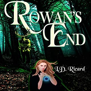 Rowan's End audiobook cover art