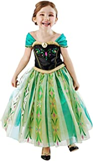 JOVMIN Girls Princess Dress Anna Costume Halloween Party Fancy Dress