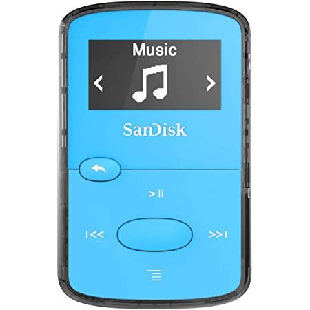 Sandisk Clip Jam 8gb Mp3 Player Blau Audio Hifi