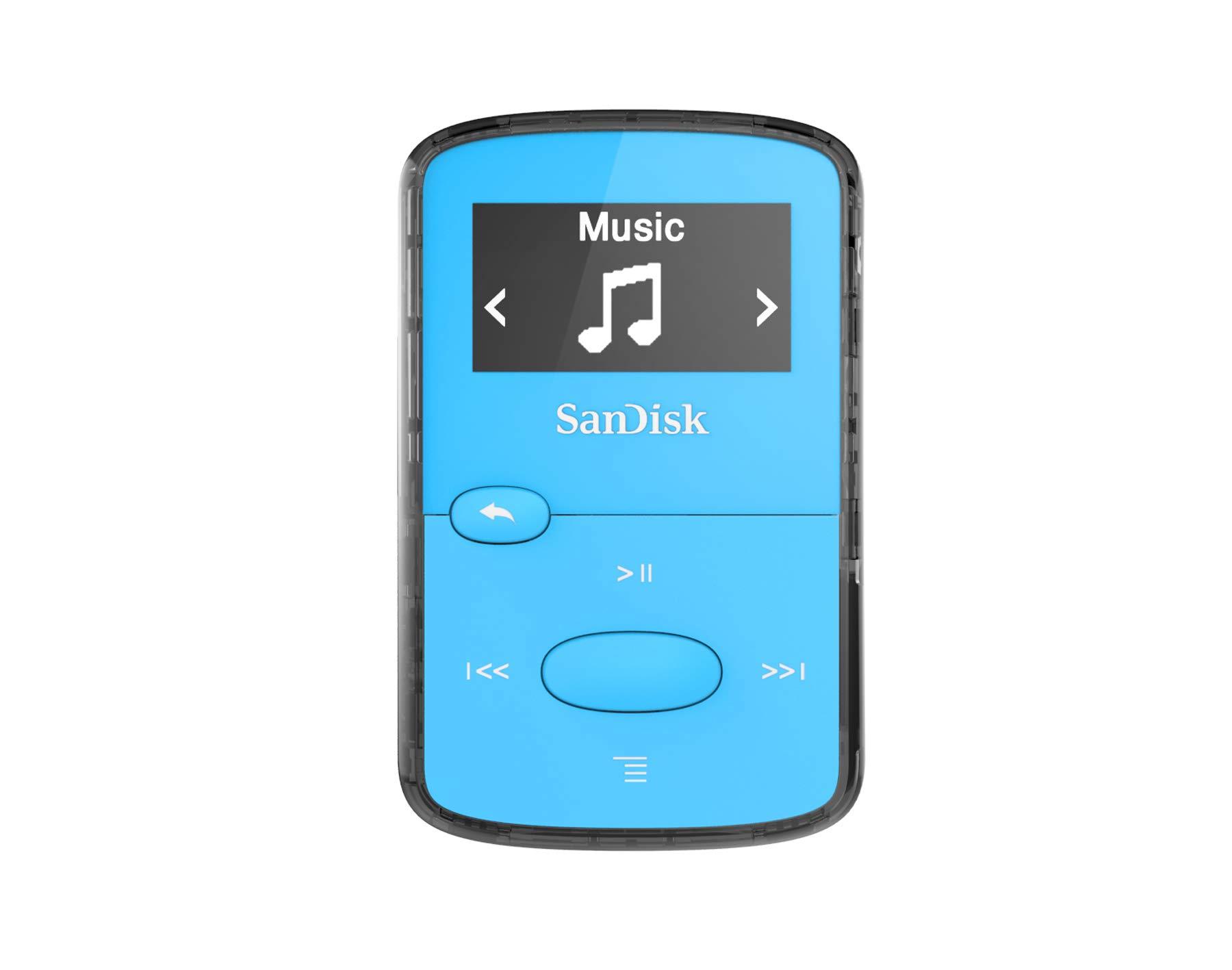 SanDisk 8GB Clip Player Blue