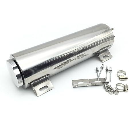 """3x9/"""" Stainless radiator over flow tank reservoir radiator spit puke tank bottle"""
