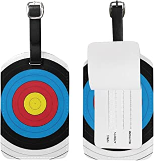 FAJRO Target Archery Luggage Tag Business Card Travel ID Tag