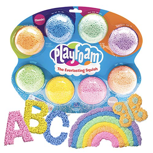 Educational Insights Playfoam Combo 8-Pack, Fidget, Sensory Toy, Stocking Stuffer for Boys & Girls, Ages 3+