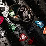 Celluloid Gitarren Plektren von Donner Gitarren Picks 4 verschiedene Stärke 16 Stück - 2
