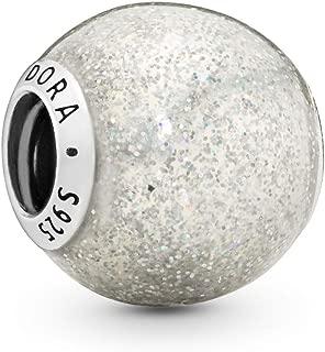 Jewelry - Silvery Glitter Charm in Sterling Silver