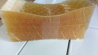 Gelatina en lamina, 500 laminas, 1kg. Sabor neutro