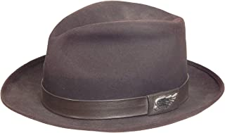 King Baby - Vintage Hat with Custom Band and Hardware Walnut