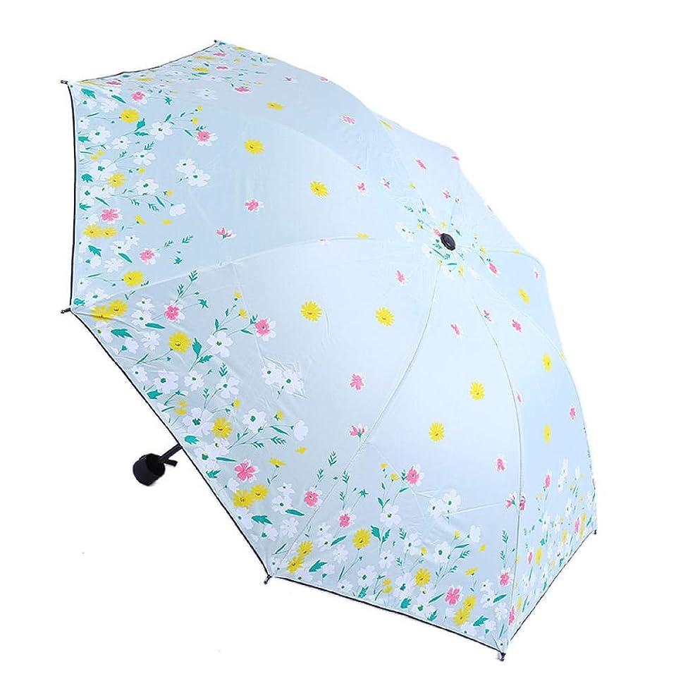 要求する変える不均一折りたたみ傘小さな新鮮な黒いプラスチック製折りたたみ傘傘日焼け止め傘