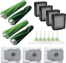iFOMO Replace T Accessories Parts Kits Compatible Irobot Roomba I7 I7+/I7 Plus E5 E6 E7 Vacuum Cleaner Grey