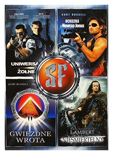 Escape from New York / Highlander / Universal Soldier / Stargate (BOX) (IMPORT) (No hay versión española)