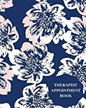 Therapist Appointment Book: Record Clients Appointments, Treatment Plans, Therapy Interventions, Note Taking Log Logbook Diary, Gifts for Clinics, ... Seminars, Planner, 110 Pages (Therapy Logs)