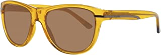 نظارة شمسية غانت سونسبنبيرل للرجال باطار برتقالي GA7024 55K08 - 55