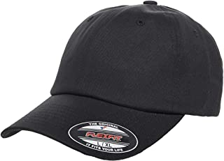 Flexfit Cotton Twill Dad Hat   Low Profile, Stretch Fit Ballcap w/Hat Liner