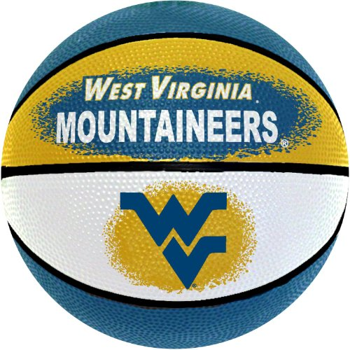 NCAA West Virginia Mountaineers Mini Basketball, 7-Inches