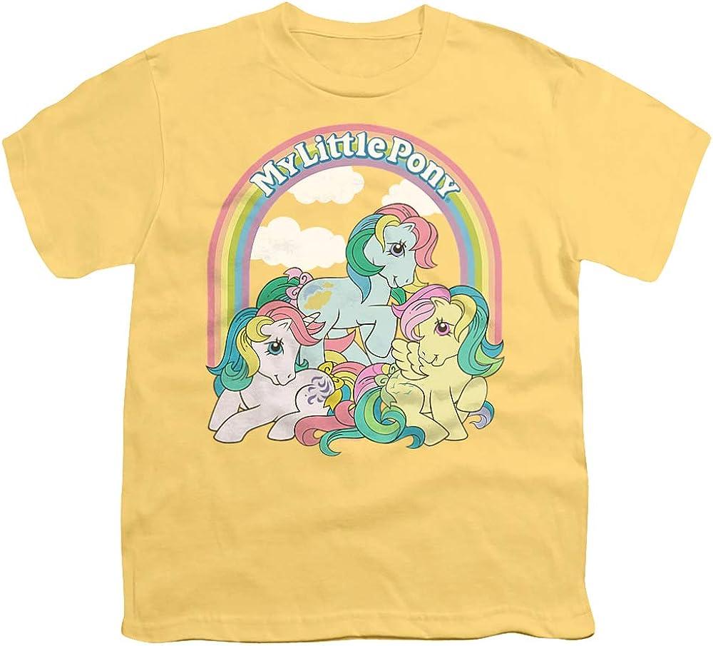 My Little Pony Retro Under The Rainbow Unisex Youth T Shirt