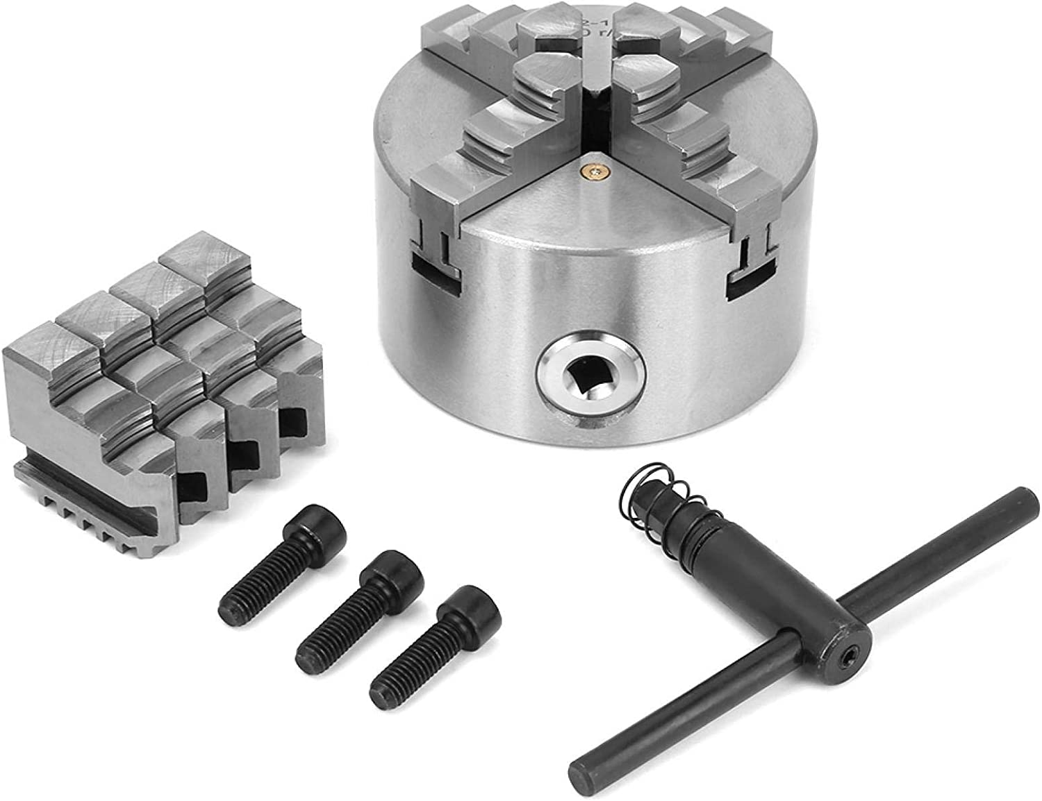 4inch Limited New products, world's highest quality popular! time cheap sale 100mm Four-Jaw Self-Centering Chuck-4 Jaw L