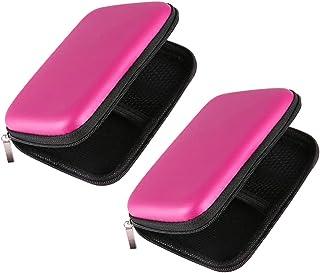Gazechimp 2 x USB-harde schijf, externe harde schijf, roze