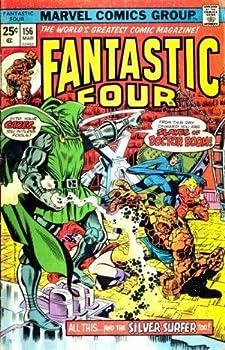 "Comic Fantastic Four #156 ""Doctor Doom & Silver Surfer Appearance Book"