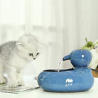 cineman Fuente de agua automática para mascotas, diseño de