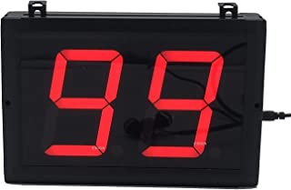 BTBSIGN 4'' Large Tally Counter Clicker 2 Digit Display for Golf Visitor Lap Event