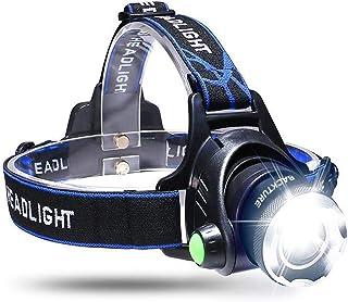 comprar comparacion BACKTURE Linterna Frontal, Linterna de Cabeza Recargable USB 4 Modos de Luz LED, Impermeable para Camping, Pesca, Ciclismo...