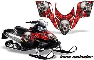 Polaris Shift, RMK, Assault AMRRACING Sled Graphics Decal Kit - Bone Collector - Red