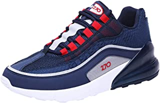 Wocoo Running Shoes Mens Sports Shoes Lightweight Breathable Non-Slip Sneakers Training Fitness Gym Walking Shoe